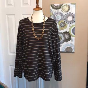 Ralph Lauren soft long sleeve tunic top size 2X ⭐️